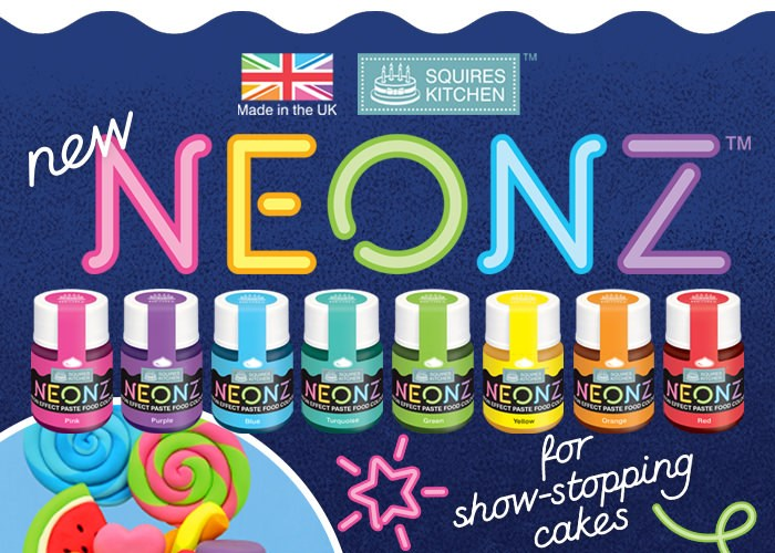 Neonz Food Colouring Pastes
