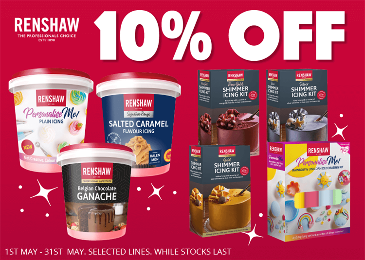 Renshaw 10% off new icing