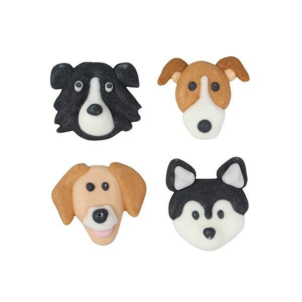 Culpitt Dog Breed Sugar Cake Decorations - Pack of 12 ...