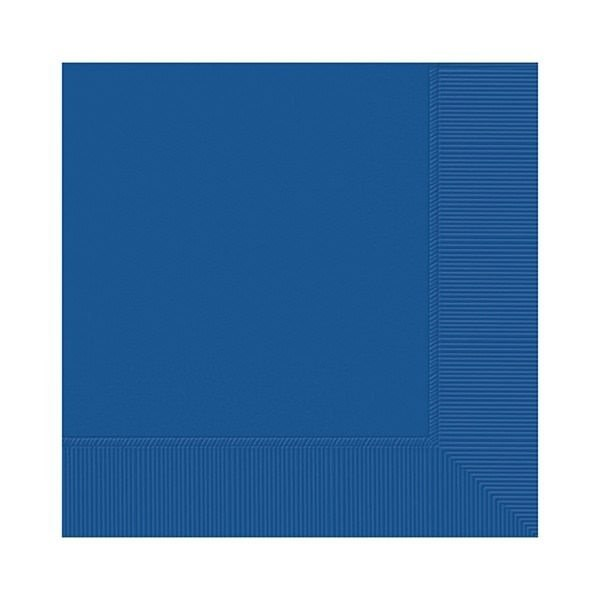 Royal Blue Party Napkins - Pack of 20