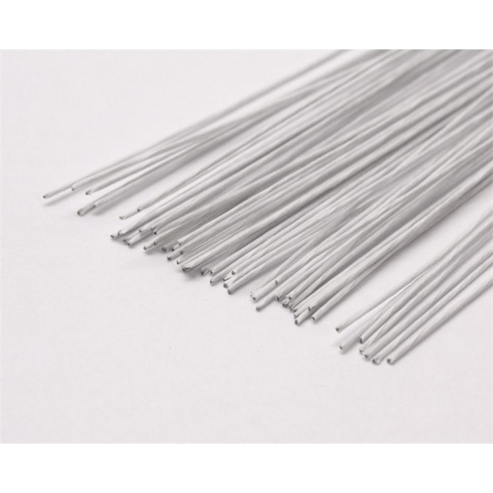 28 Gauge White Florist Wire - Pack of 50