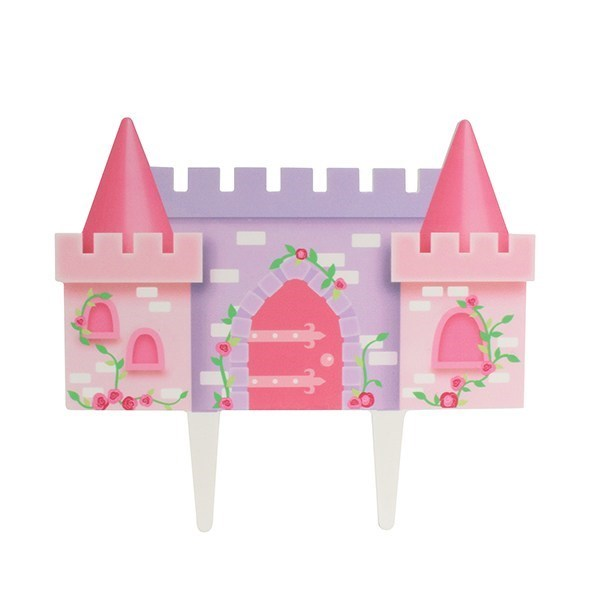 Princess Castle Gumpaste Pic - 145mm