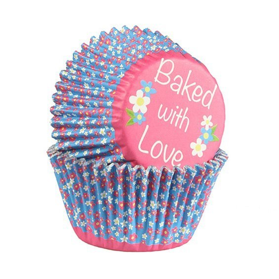 Baked with Love - Daisy Cupcake Cases - Pack of 25