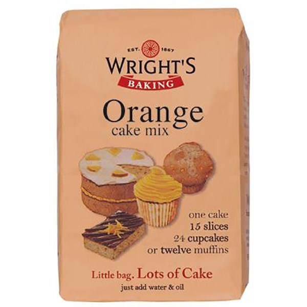 Wright's Orange Cake Mix - 500g