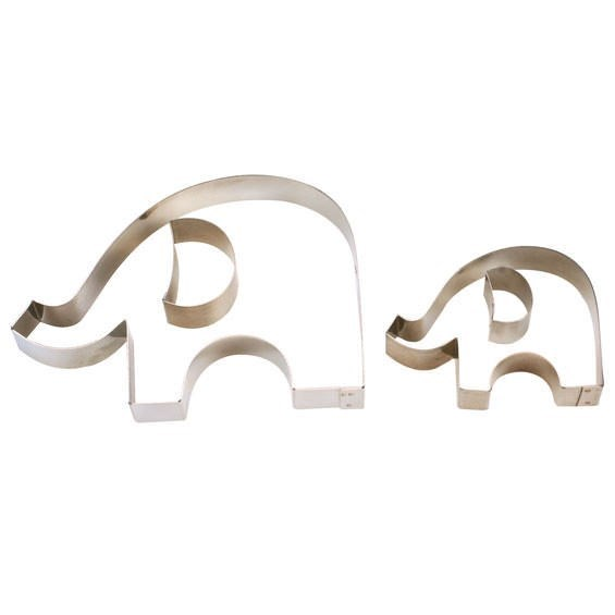 Culpitt Elephant Cutters - Set of 2