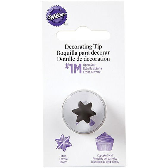 Wilton 1M Open Star Piping Nozzle