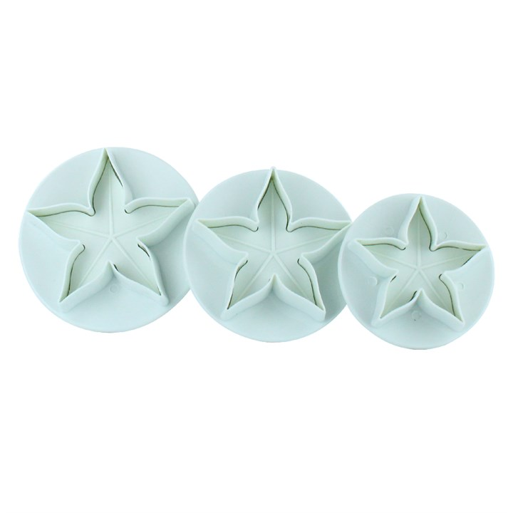 Cake Star Calyx Sugarcraft Plunger Cutter Set