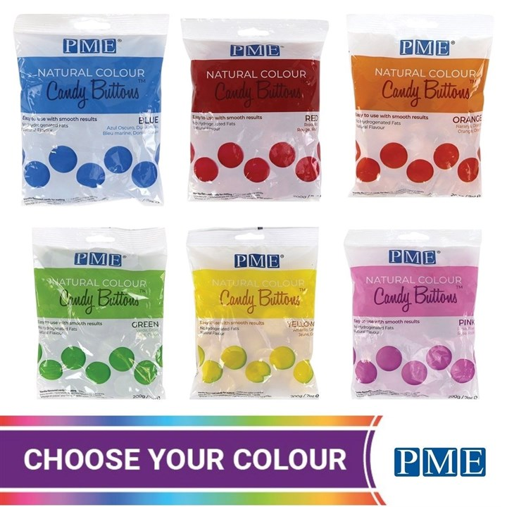 PME Natural Candy Buttons